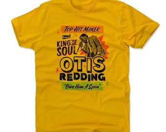 Otis Redding Men's Shirt | Soul Music | Men's Cotton T Shirt | Otis Redding Soul K