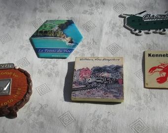 Lot Of Assorted Souvenir Refrigerator Magnets
