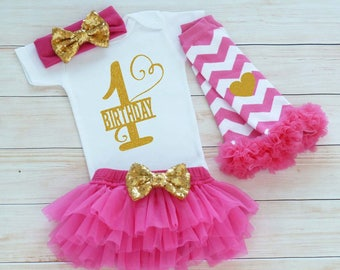 First Birthday Outfit Girl, Cake Smash Outfit, One Birthday Outfit, 1st Birthday Girl, Princess Birthday Outfit, Tutu Outfit, Birthday Gift