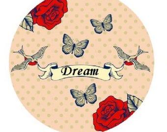 Bird love, dream, 20mm