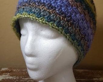 TerraFibres Crochet Shell Beanie Pattern