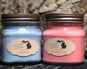 Homemade All Natural Soy Candles