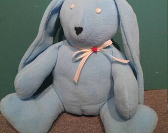Blue Rabbit Bunny