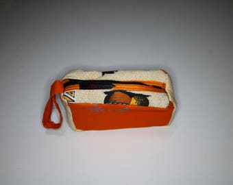 Makeup Bag, toiletry bag, cosmetic bag,travel bag, African print make-up bag, make-up zipper pouch, traveling pouch, lipstick pouch, powder