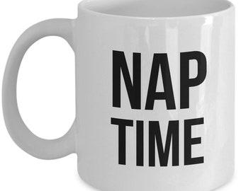 nap time mug - 11/15 oz coffee mug gift