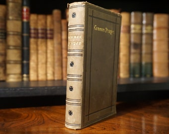 1879 The Book of Common Prayer and The Sacraments, Oxford University Press, Antique Book