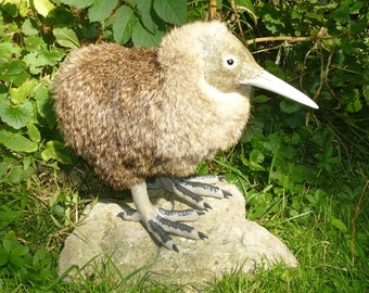 "Baby Kiwi Bird - OOAK Posable Doll - ""Made to Order"""