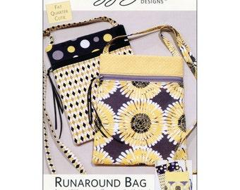 "Pattern ""Runaround Bag"" by Lazy Girl Designs (LGD111) Paper Pattern"