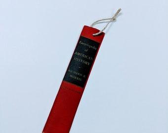 Book spine bookmarker