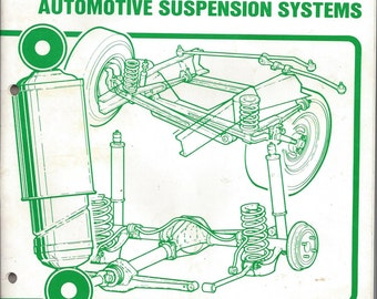 Automotive Suspension Systems manual - Sears Roebuck and Co., D/707-9, Chicago SEI 960 (6/88)