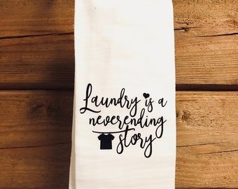 Laundry Room Flour Sack Towel