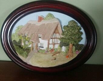 Vintage 3D wall art Lakeland Studios U.K.