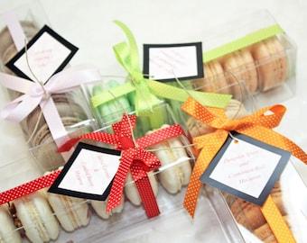 French Macaron Box - 2 dozens