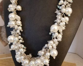 One of a kind, Wedding Pearl Necklace