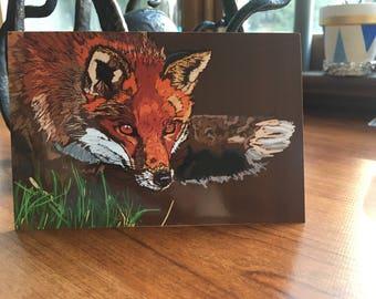 Autumn Fox Print 4x6