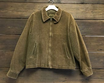 Vintage 90s St. Johns Bay Corduroy Jacket