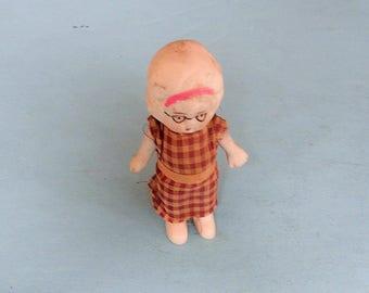 Figurine poupée japonaise ancienne poupée Vintage