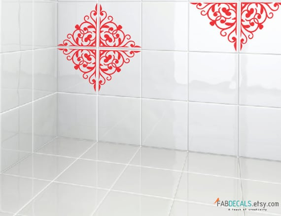 Tiles vinyl decals for 7 9x7 9 tiles tiles stickers