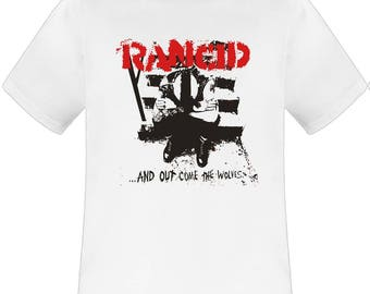 Rancid And Out Come The Wolves white t shirt