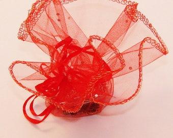 4 clutch purses red diameter 26cm - Ref: PBO 511