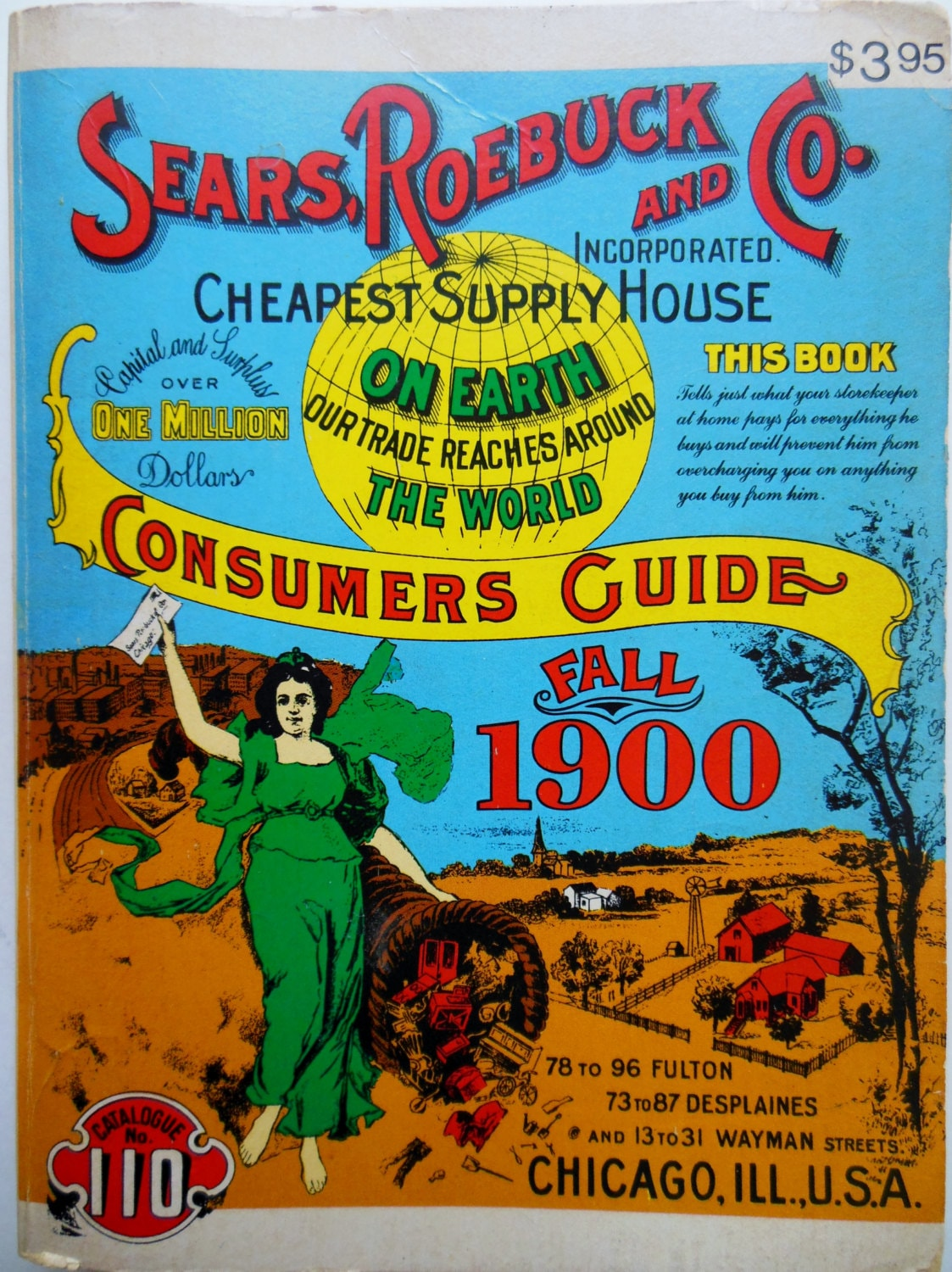 SEARS ROEBUCK And Co. Sears Catalog Old Fashioned