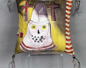 White Knight on Yellow - Skull, Skeleton