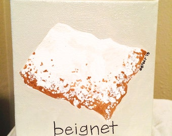 B is for Beignet