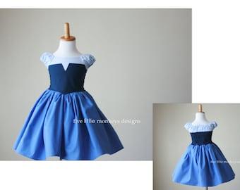 Ariel Dress, Ariel Costume, Little Mermaid Dress, Little Mermaid Costume, Blue Ariel Dress, Blue Ariel Costume, Kiss the Girl