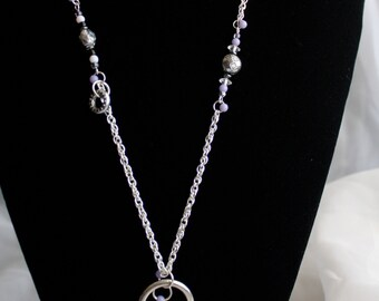 Eclectic Lock and Key Necklace