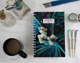 Weekly 2018 Planner-Personalized Planner-Custom Planner-Choose Start Month-12 Months-Agenda-Mini Planner-Pocket Size Planner-A5