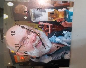 Personlised photo wall/table clocks