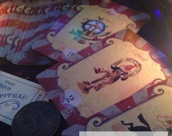The Curious Chapiteau Lenormand deck