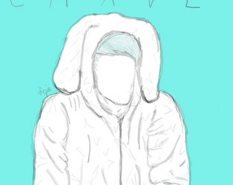 Waterparks Awsten Knight 'Crave' Drawing