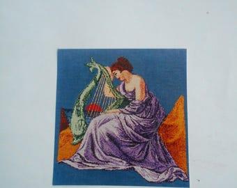 The Siren's Song, de la Tour, Pattern Leaflet #74736, 1997