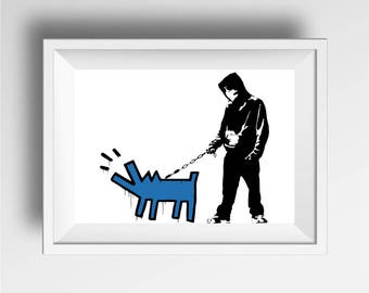 Banksy Poster Art Print | wall art Graffiti prints