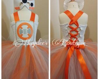 Round Droid Tutu Dress Set