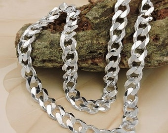 Massive armored chain 50 cm, 925