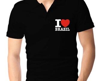 I Love Brazil Polo Shirt