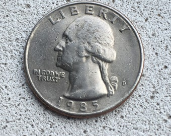 1985-D Washington Quarter