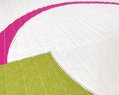 SIMPLY MODERN QUILT - Simple Sonia - Candy Pink and Peapod Green