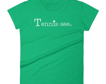 Tennis.see® Classic Fit Tennis Tennessee Women's short sleeve t-shirt