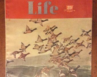 Vintage Outdoor Life Magazine