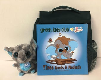 Green Kids & Teenie Book Gift Set