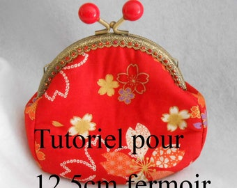 for clasp 12.5 cm, explanatory and step by step tutorial