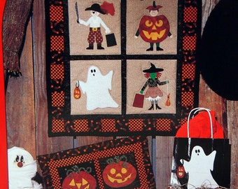 Trick Or Treat By Tami Gandre And Calico Gardens Patterns Vintage Quilt Pattern Packet 1994
