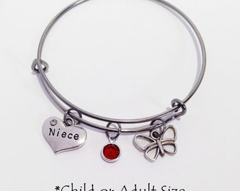 Niece Gift from Aunt, Niece Bracelet, Gift for Niece, Niece Jewelry, Kids Bracelet, Niece Birthday Gift, Wedding Party Gifts, Niece Gift