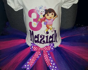 Dora the Explorer Birthday Outfit