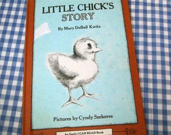 little chick's story, vintage 1978 children's book