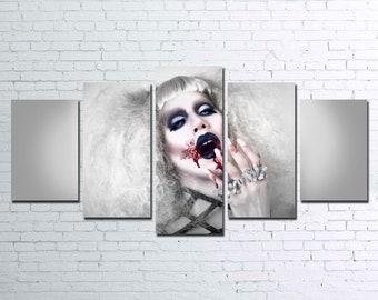 Sharon Needles 5pc Canvas Set