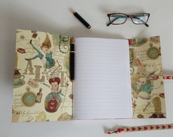 Alice in Wonderland Journal, Queen of Hearts, Mad Hatter, Through the Looking Glass, Mad Hatters Tea Party, Alice Wedding Book